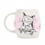 купить Кружка Кошка с чаем цена, отзывы