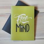 купить Блокнот Free your mind цена, отзывы