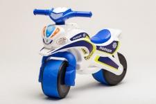 купить Беговел Active Baby Police Бело-синий цена, отзывы