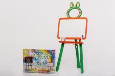 купить Мольберт двусторонний Active Baby Оранжево-зелёный  цена, отзывы