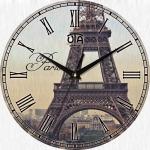 купить Настенные Часы Vintage Эйфелева башня цена, отзывы