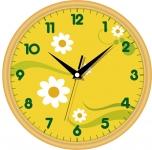 купить Настенные Часы Сlassic Ромашки цена, отзывы