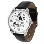 купить Часы Наручные Иллюзия Времени Black цена, отзывы