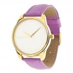 купить Часы Наручные Минимализм Фиолет Gold цена, отзывы
