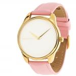 купить Часы Наручные Минимализм Розовый Gold цена, отзывы
