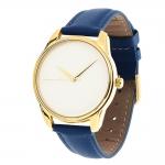 купить Часы Наручные Минимализм Cиний Gold цена, отзывы