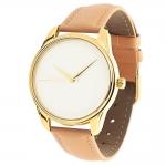 купить Часы Наручные Минимализм Кремовый Gold цена, отзывы