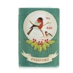 купить Обложка для паспорта Снегирь цена, отзывы