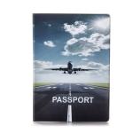 купить Обложка для паспорта Самолет цена, отзывы