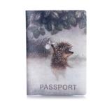 купить Обложка для паспорта Ёжик в тумане цена, отзывы