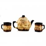купить Набор чайный хатинка колорит цена, отзывы