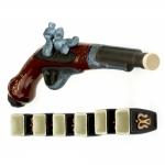купить Коньячный набор Пистоль ( мушкет ) цена, отзывы