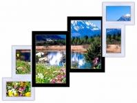 купить Мультирамка Лесенка на 6 фото (Черно-Белая) цена, отзывы