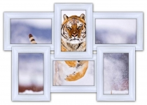 купить Мультирамка Классика на 6 фото (White) цена, отзывы