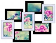 купить Мультирамка 7-мь Чудес на 7 фото (Черно-Белый) цена, отзывы