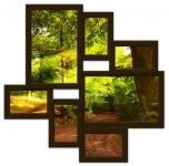 купить Мультирамка Волна Любви на 7 фото (Венге) цена, отзывы