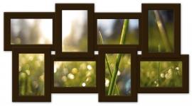 купить Мультирамка История на 8 фото (Венге) цена, отзывы