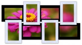купить Мультирамка История на 8 фото (Черно-Белый) цена, отзывы