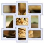 купить Мультирамка Классика на 9 фото (White) цена, отзывы