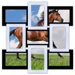 купить Мультирамка Классика на 9 фото (Черно-Белый) цена, отзывы