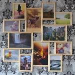 купить Мультирамка Большое Путешествие на 12 фото (Натуральное Дерево) цена, отзывы