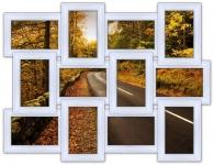 купить Мультирамка Классика на 12 фото (White) цена, отзывы