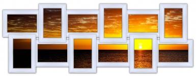 купить Мультирамка История на 12 фото (White) цена, отзывы
