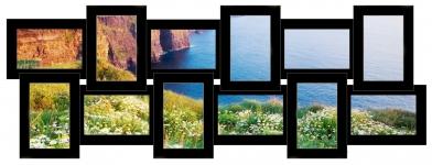 купить Мультирамка История на 12 фото (Black) цена, отзывы
