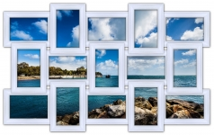 купить Мультирамка История на 15 фото (White) цена, отзывы