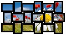 купить Мультирамка История на 18 фото (Black) цена, отзывы