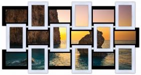 купить Мультирамка История на 18 фото (Черно-Белый) цена, отзывы