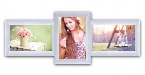 купить Пластиковая Мультирамка Полет на 3 фото (White) цена, отзывы