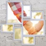 купить Пластиковая Мультирамка Волна Любви на 7 фото (White) цена, отзывы