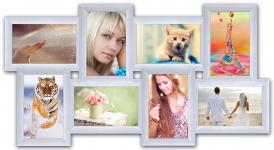 купить Пластиковая Мультирамка История на 8 фото (White) цена, отзывы