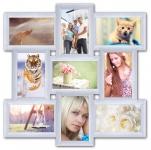 купить Пластиковая Мультирамка Классика на 9 фото (White) цена, отзывы