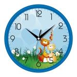 купить Настенные Часы Сlassic Котята Blue цена, отзывы