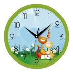 купить Настенные Часы Сlassic Котята Green цена, отзывы