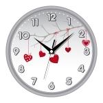 купить Настенные Часы Сlassic День Святого Валентина Grey цена, отзывы