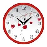 купить Настенные Часы Сlassic День Святого Валентина Red цена, отзывы