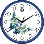 купить Настенные Часы Сlassic Букет незабудок Blue цена, отзывы