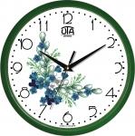 купить Настенные Часы Сlassic Букет незабудок Green цена, отзывы