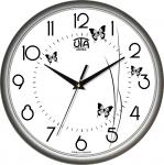 купить Настенные Часы Сlassic Полет Бабочек Grey цена, отзывы