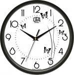 купить Настенные Часы Сlassic Полет Бабочек Black цена, отзывы