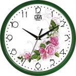купить Настенные Часы Сlassic Нежный букет Роз Green цена, отзывы