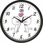 купить Настенные Часы Сlassic Жирафчик Котята Black цена, отзывы