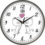 купить Настенные Часы Сlassic Жирафчик Котята Grey цена, отзывы