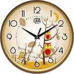 купить Настенные Часы Сlassic Совята Gold цена, отзывы