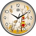 купить Настенные Часы Сlassic Совята Silver цена, отзывы