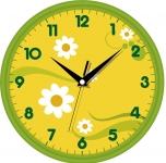 купить Настенные Часы Сlassic Цветущая Полянка цена, отзывы