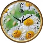 купить Настенные Часы Сlassic Ромашки Gold цена, отзывы